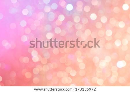 Glitter light background abstract - stock photo
