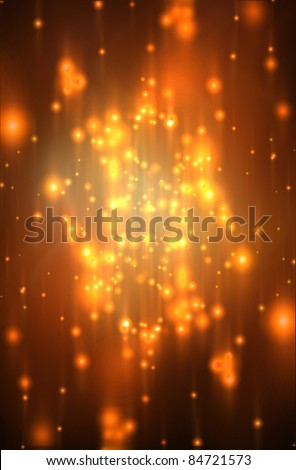 Glitter of color christmas lighting background - stock photo