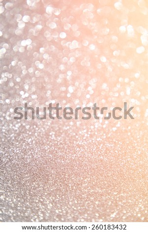 glitter vintage lights background. abstract gold background . defocused  - stock photo