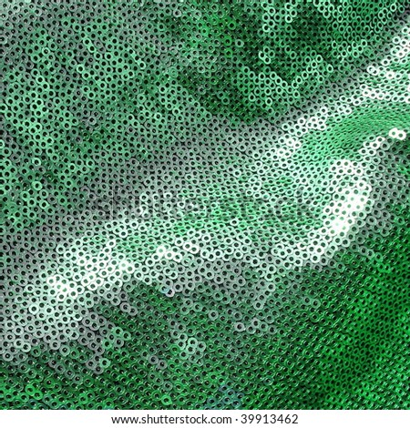 Glittering sequins texture. More of this motif & more sequins in my port. - stock photo