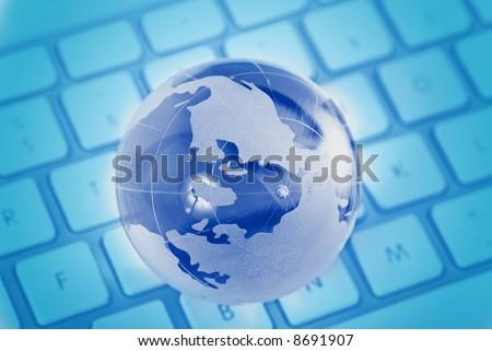 Global access - stock photo