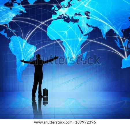 Global Business Celebrating - stock photo