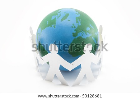Global Connections - stock photo
