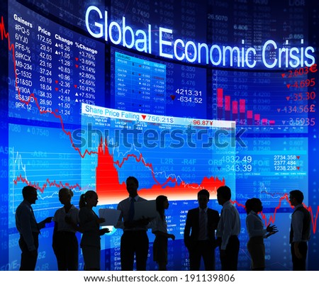 Global Economic Crisis - stock photo