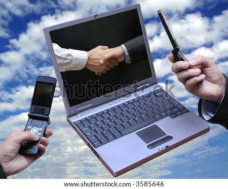 Global software !! - stock photo