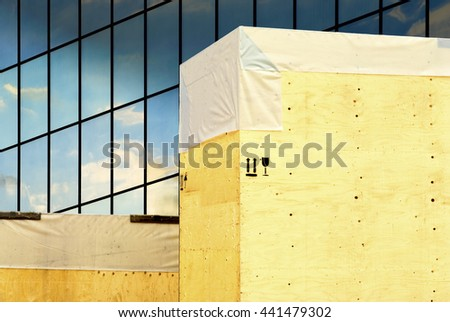 Global trade production supply economy  industry - stock photo