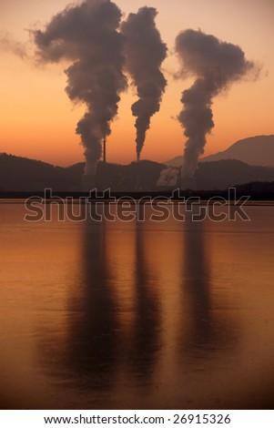 Global Warming - stock photo