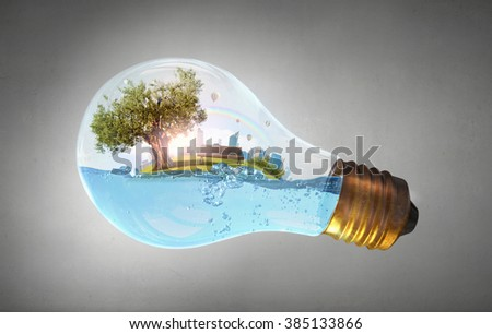 Global warming concept - stock photo