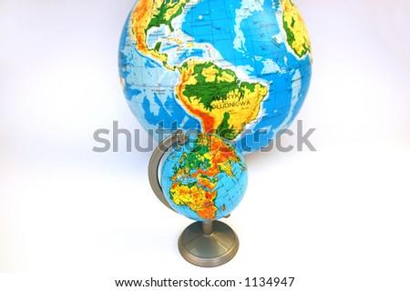 globe #1 - stock photo