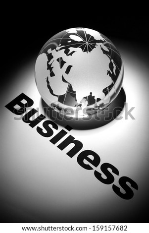 globe, concept of Global Business