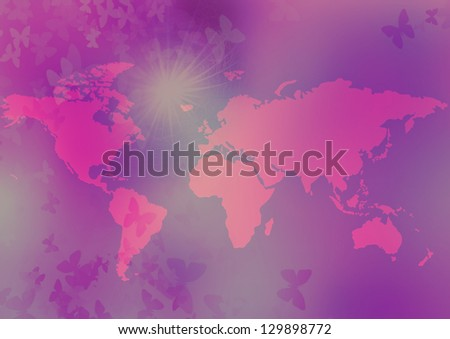 Globe issues - stock photo