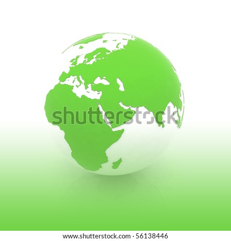 Globe of the world - stock photo