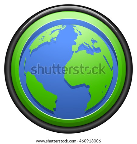 Globo Button sign
