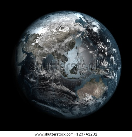 Stock Images similar to ID 106227527 - earth painted on ...