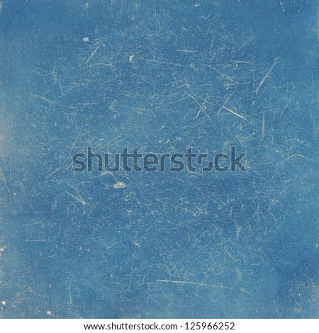 Gloomy vintage texture ideal for retro backgrounds. In blue colors - stock photo