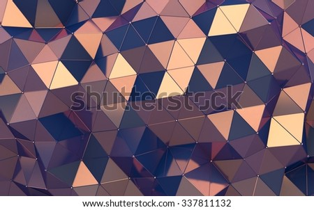 Gloss triangle texture