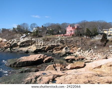 Gloucester shore - stock photo