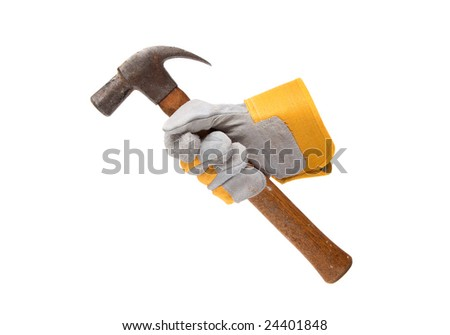 Glove and Hammer