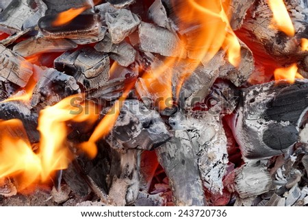 Glowing Charcoal Background and Texture for text or image - stock photo