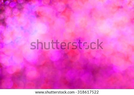 glowing Christmas light background - stock photo