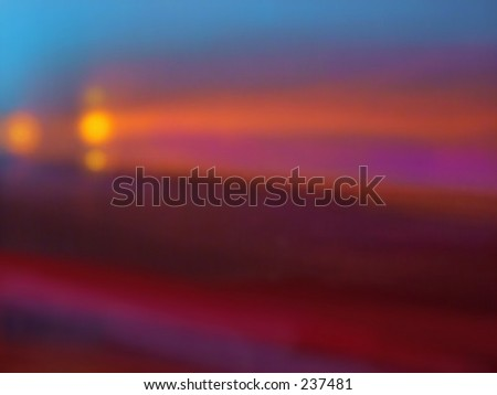Glowing golden blur background - stock photo