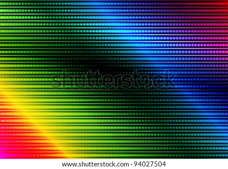 Glowing Multicolor Abstract Party Background - stock photo