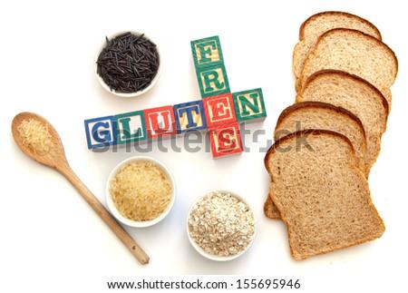 Gluten free  - stock photo