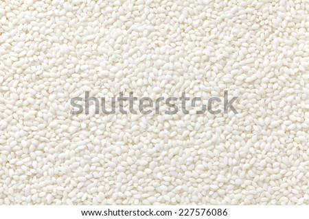glutinous rice - stock photo