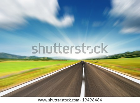 Go ahead - stock photo