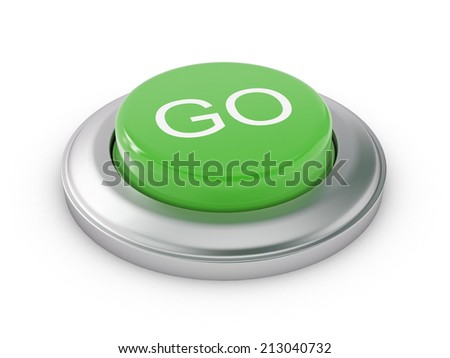 Go Button - stock photo