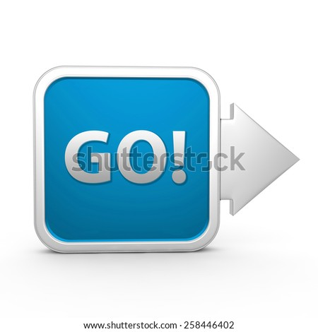 go square icon on white background