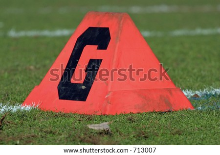 Goaline - stock photo