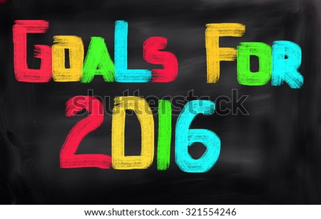 Goals For 2016 Concept