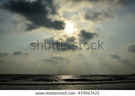 God Light Beach