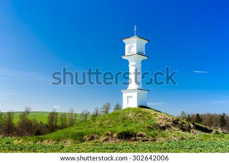 God's torture near Dirna, Czech Republic - stock photo
