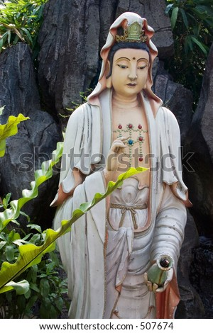 Goddess of Mercy. - stock photo