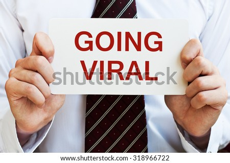 Going Viral  - stock photo