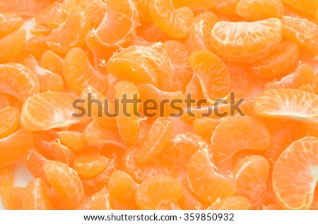 Gokuwase unshu, earliest of Japanese satsuma tangerines with orange and green rind when ripe - stock photo