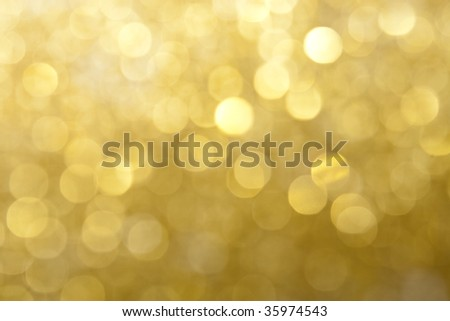 Gold Lights Backgrounds Lights background - stock