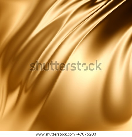 Gold artistic grunge - stock photo
