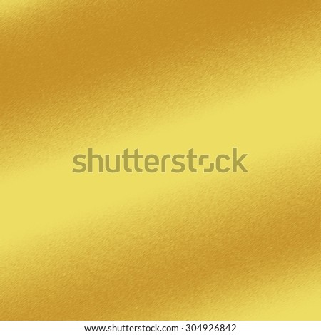 gold background metal texture with oblique line of light to decorative greeting card design - stock photo