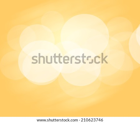 gold background with bright circles and light in the middle. - stock photo