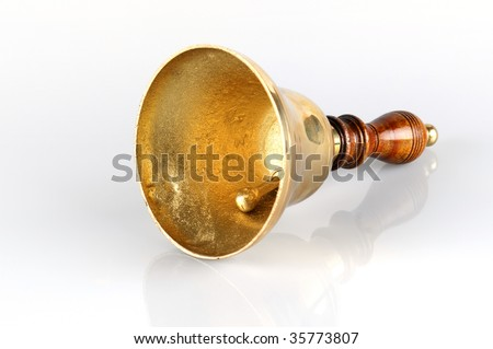 Gold Bell - stock photo