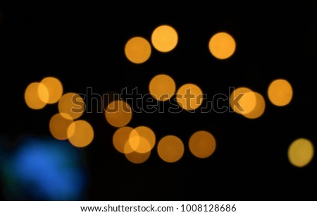 Gold bokeh abstract light backgrounds.