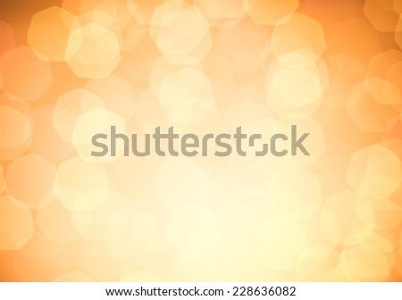 Gold Christmas Glittering background - stock photo