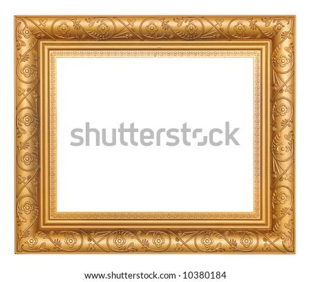 Gold-colored Picture Frame