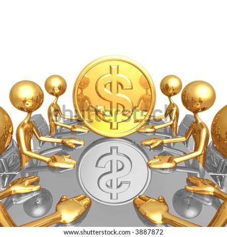 Gold Dollar Coin Meeting