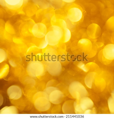 Gold Festive Christmas background. Elegant abstract background abstract