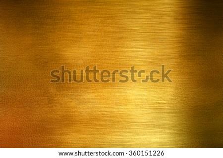 gold grunge background - stock photo
