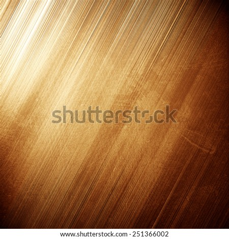 Gold metal texture - stock photo